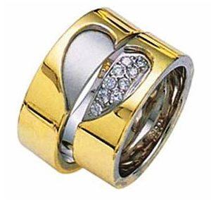 """Обручальные кольца """"Сердце"""""""