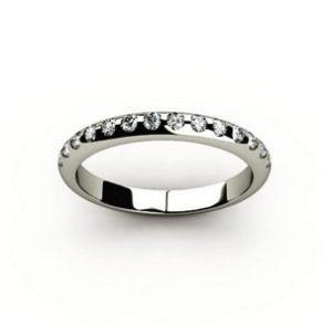 Обручальное кольцо 00007