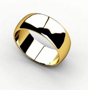 Обручальное кольцо 00004