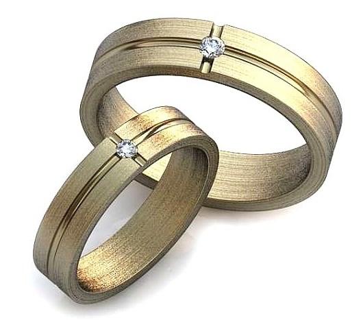 Обручальное кольцо бриллиант, фианит или любой другой. Круг 1.9мм-1шт, 2.3мм-1шт.