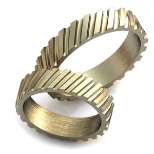 Обручальное кольцо с гранями обр0014