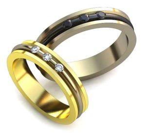 Обручальные кольца обр0016