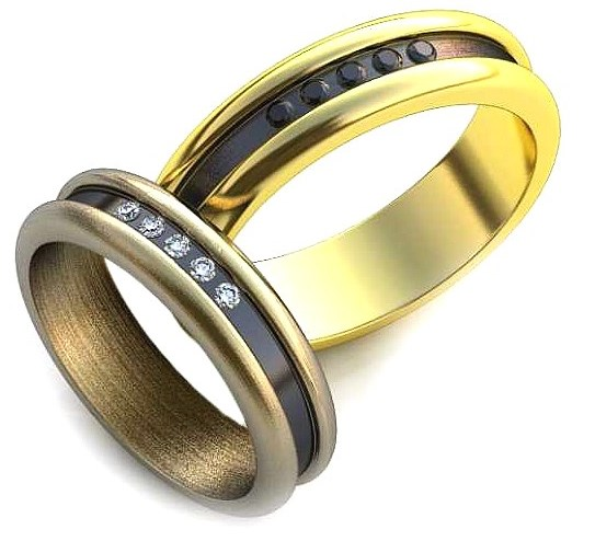 Обручальные кольца из каталога