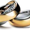 Обручальное кольцо с 6-ю бриллиантами