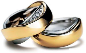 Обручальное кольцо 00006