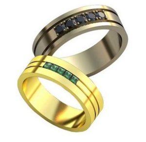 Обручальные кольца обр0133