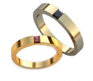 Обручальные кольца обр0134