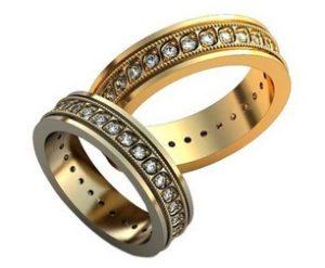Обручальные кольца обр0143