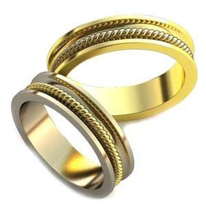 Плетёные обручальные кольца