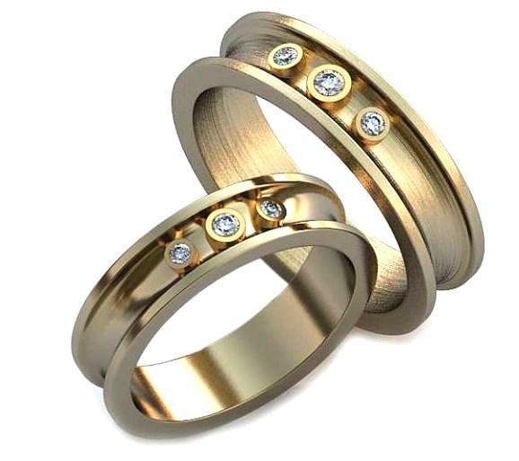 Обручальные кольца из своего золота