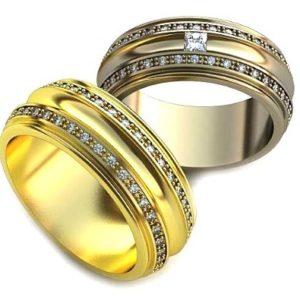 Обручальные кольца от 20 тысяч рублей