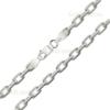 Женская цепочка плетения «Якорное» классическое из белого золота