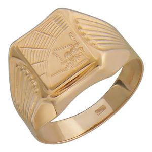Мужское золотое кольцо м2-к