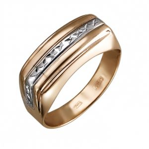 Мужское золотое кольцо