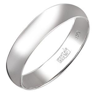 Обручальное кольцо из белого золота (арт. ж-9731к)