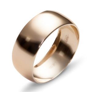 Обручальное кольцо из красного золота (арт.ж-9771к)