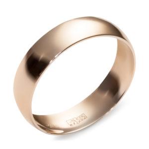 Обручальное кольцо из красного золота (арт. ж-9730к)