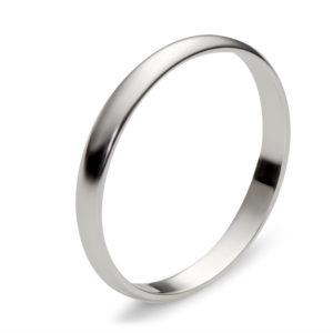 Обручальное кольцо из белого золота (арт.ж-9771к)