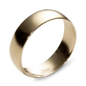 Обручальное кольцо из жёлтого золота (арт.ж-9752к)