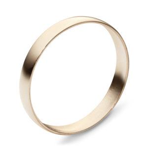 Обручальное кольцо из красного золота (арт. ж-9754к)