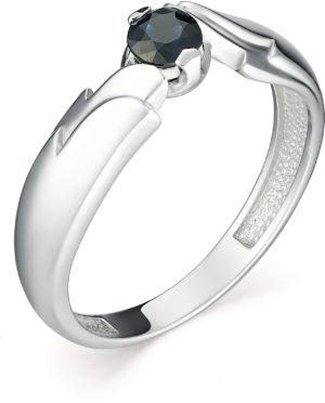 Кольцо с 1 сапфиром из белого золота (арт. ж-7998к)