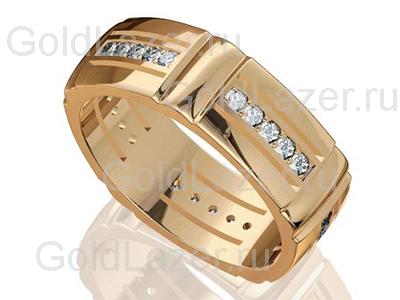 Мужские кольца с драгоценными камнями