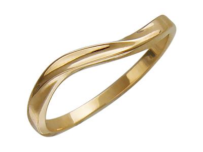 Женское кольцо без вставок