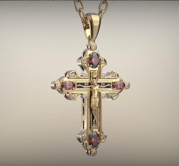Изготовление золотых крестиков