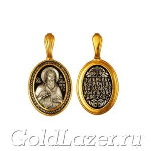 Образок - святой Феодосий Печерский