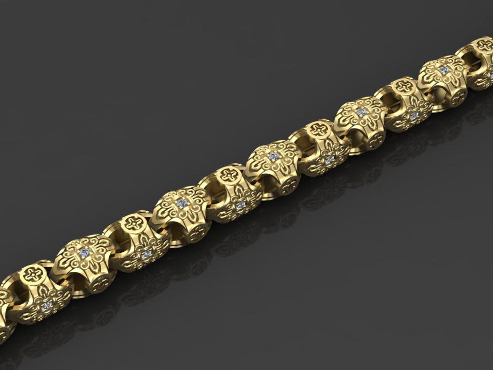 Изготовление золотых и серебряных цепочек