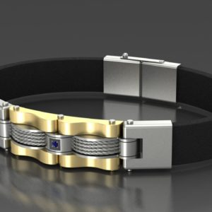 Изготовление мужских браслетов на заказ