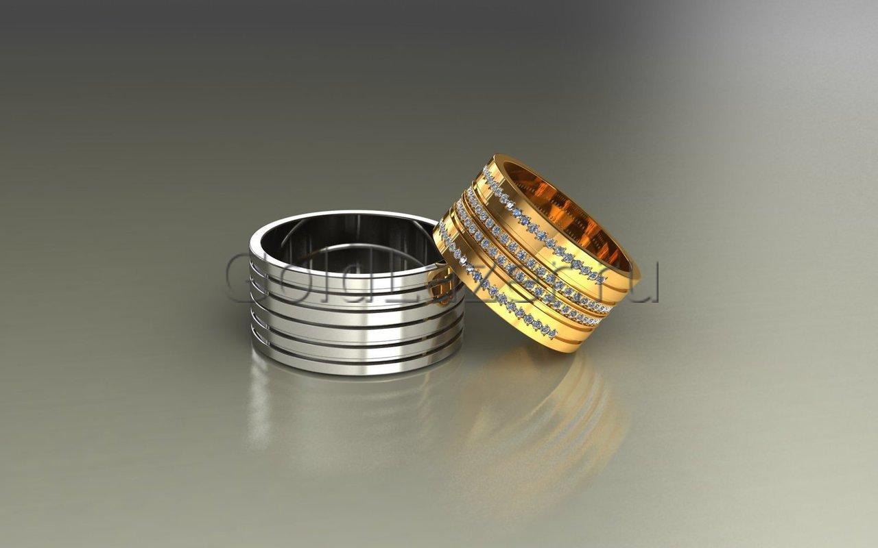 Обручальные кольца под заказ в ювелирной мастерской