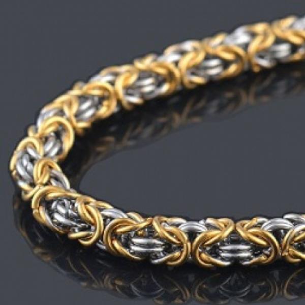Золотые цепочки «Эксклюзив» ручного плетения